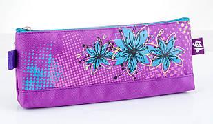 531400 Пенал мягкий  Blue Flowers, 20.5*8.5*2.5