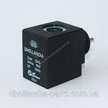 Катушка для клапана  с разъёмом 24В Dhollandia (E0240)