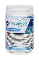 Crystal Pool Quick Chlorine Tablets 1 кг - Быстрорастворимые таблетки хлора для первичной дезинфекци, фото 1