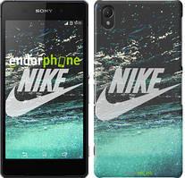 """Чехол на Sony Xperia E5 Water Nike """"2720c-458"""""""