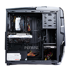 Системный блок РЕГАРД RE753 (Intel Core i7-7700 3.6GHz/GeForce GTX 1060, 6GB/16GB DDR4/2TB HDD/БП 500W), фото 3