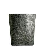 Горшок из ткани для выращивания растений 7-8л(диаметр18-20см/высота 20-22см)