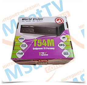 World Vision T54M цифровой T2 ресивер