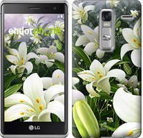 """Чехол на LG Zero Белые лилии """"2686u-476"""""""