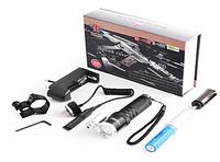 Подствольный лазерный фонарик Bailong Police BL-Q9846 +лазер   код 9846