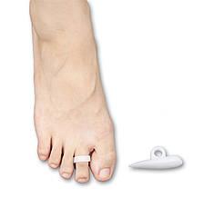 Протектор силиконовый на стопе под пальцами на ногах с петлей на палец (пара-2шт.)