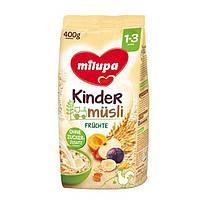 Milupa Kindermüsli Früchte - Детские Мюсли с фруктами, для детей 1-3 лет, 400 г