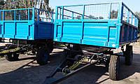 Прицеп тракторный самосвальный, зерновоз ПТС