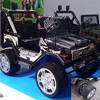 Детский электромобиль Джип S-618 EBRS-2 мягкие колеса автопокраска