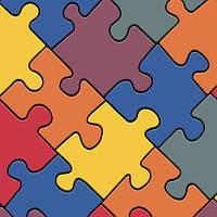 Бытовой линолеум IVC Bingo Classic Puzzle Colour 50