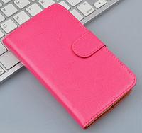 Чехол книжка для Nokia Lumia 520 розовый, фото 1