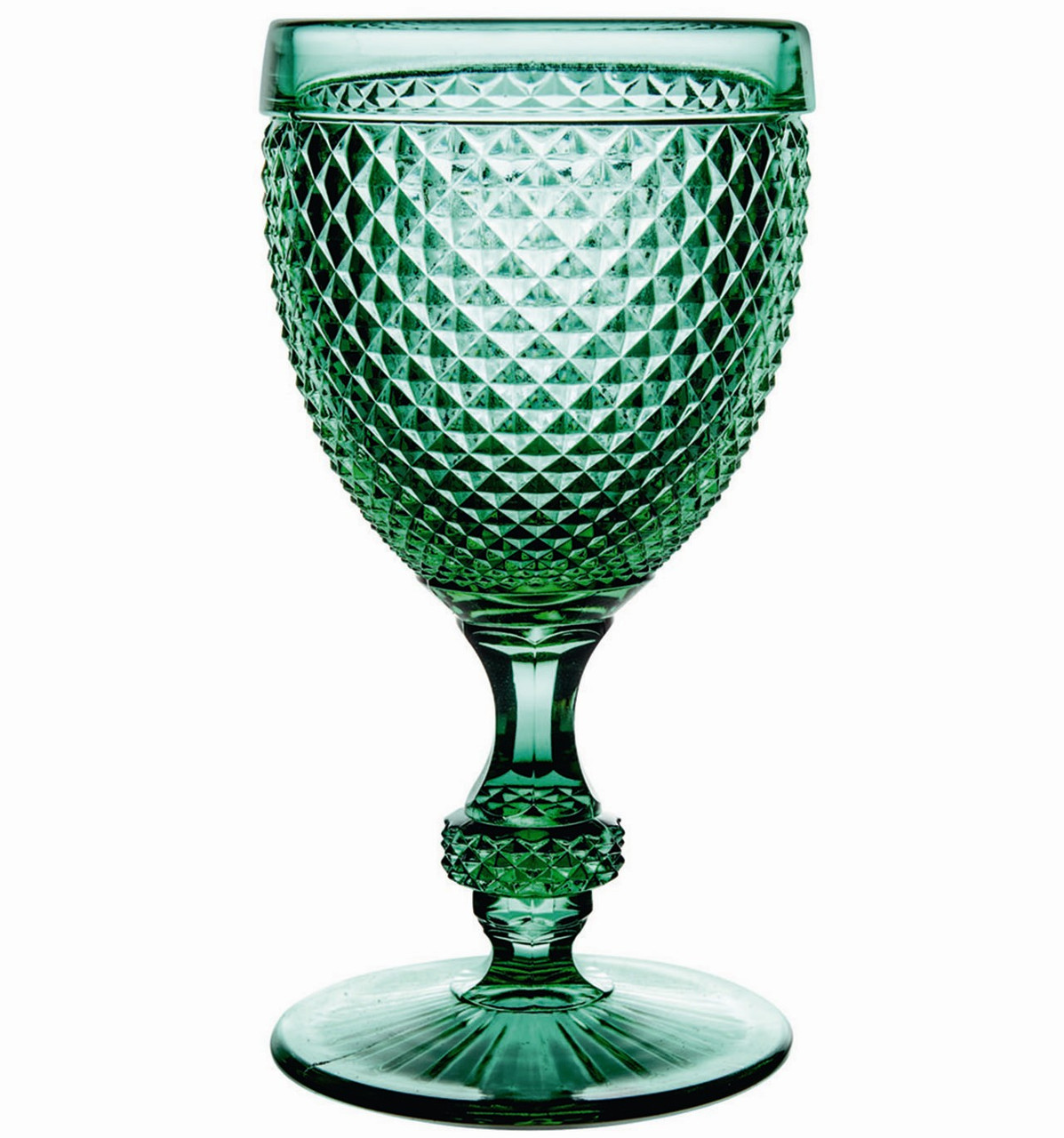 Набір бокалів для води Vista Alegre Bicos 280 мл 4 шт зелених AB10/003043163004