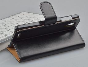 Кожаный чехол-книжка для  Lenovo P780 белый, фото 3