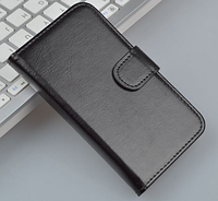 Кожаный чехол для Lenovo S920 черный, фото 1