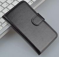 Кожаный чехол для Lenovo S820 черный, фото 1