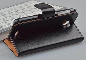 Кожаный чехол для Lenovo A706 белый, фото 3