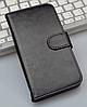 Кожаный чехол-книжка для Lenovo S60 s60t черный