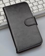 Шкіряний чохол-книжка для Lenovo S60 s60t чорний