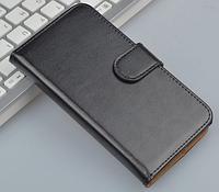 Кожаный чехол для Lenovo A800 черный