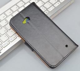 Чехол книжка для  Nokia Lumia 640 коричневый, фото 2