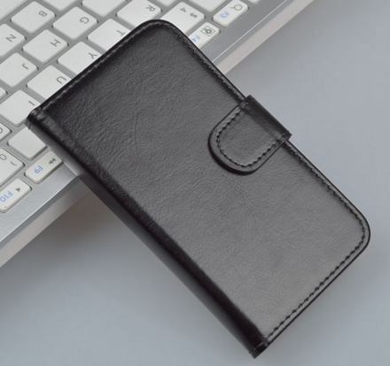 Кожаный чехол-книжка для Meizu Mx4 черный