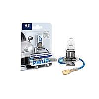 Галогенновая лампа Philips H3 White Vision+30% 12336whvb1