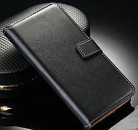 Кожаный чехол-книжка для Xiaomi Mi5  Mi 5  M5 черный