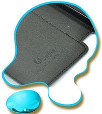 Чехол-книжка для Huawei Honor 3 джинс синий, фото 3