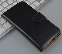 Кожаный чехол-книжка для Sony Xperia SP M35h C5302 C5303 черный