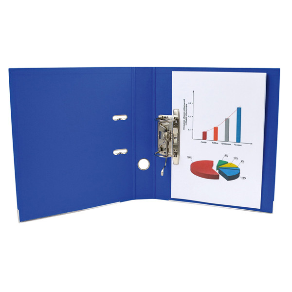 Регистратор цветной А4 ширина 7,5 см Delta D1712
