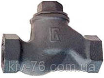 Клапан обратный чугунный муфтовый 16кч11р д.40