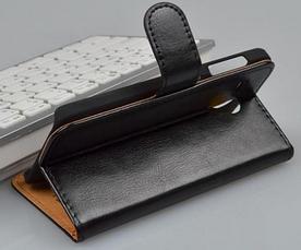 Кожаный чехол книжка для Lenovo A606 белый, фото 3