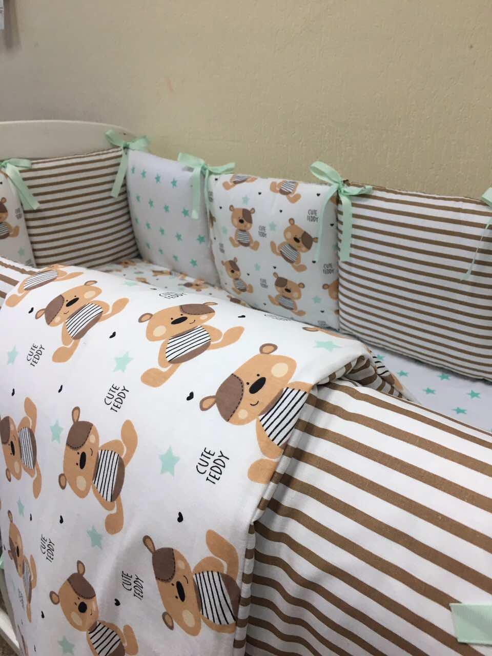 Комплект детского белья Baby Design мишки 6 пр