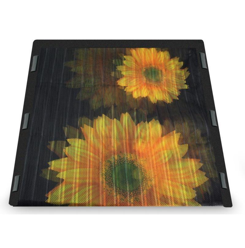 Москитная сетка с подсолнухами Insta-Screen - антимоскитная сетка на дверь