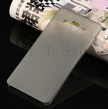 Чехол бампер для Samsung Galaxy A7 A700 серый