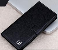 Стильный чехол-книжка для Lenovo k910 vibe z черный