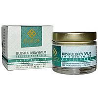 Alaffia, Нежный бальзам для младенцев, Для сухой и очень сухой кожи, Без запаха, 2.0 унции (59 мл)