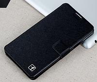 Стильный чехол-книжка для Samsung Galaxy A7 A700 черный