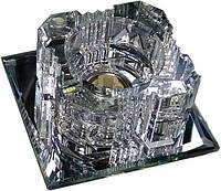 Светильник точечный Lemanso ST103 прозрачный-серебро G9 35W + 6штук smd2835 4000К с драйвером