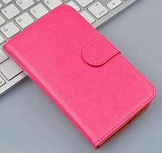 Чехол книжка для Nokia N8 розовый