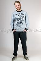 Мужской костюм Бруклин (светло-серый)