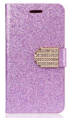 Чехол-книжка для Samsung Galaxy S5 mini G800 фиолетовый, фото 2