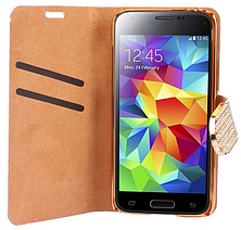 Чехол-книжка для Samsung Galaxy S5 mini G800 фиолетовый, фото 3
