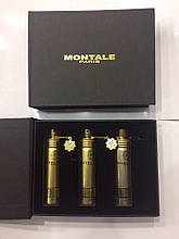 Подарочный набор унисекс Montale Tropical Wood (Монталь Тропикал Вуд) 3*20 мл