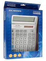 Калькулятор CITIZEN SDC-888XWN белый