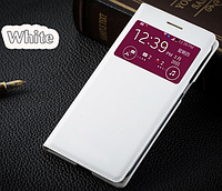Чехол смарт для Samsung Galaxy Grand duos G7102 G7106 G7108 S-View белый