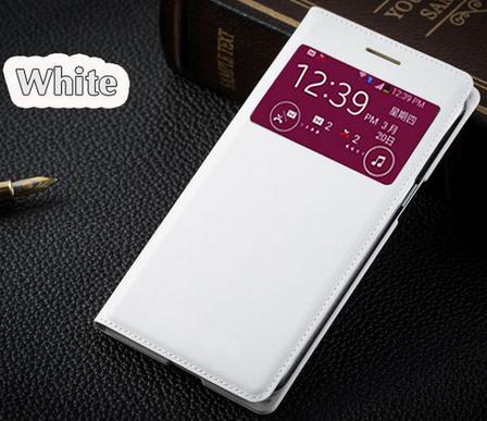 Чехол смарт для Samsung Galaxy Grand duos G7102 G7106 G7108 S-View белый, фото 2