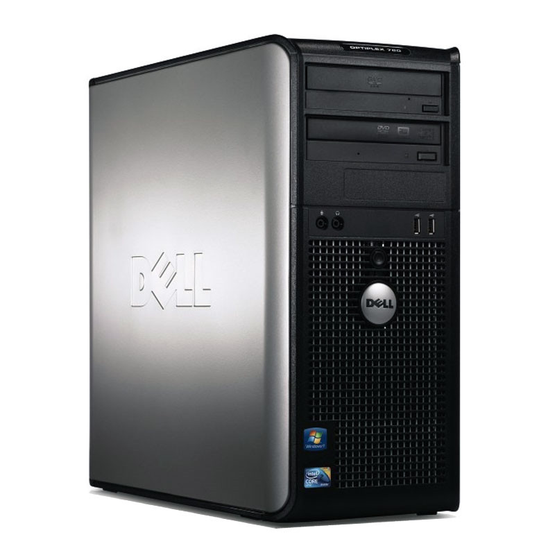 Компьютер бу Tower Dell 780 / Core2Duo E 5500  / Ram 4Gb / HDD 320Gb