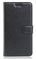 Кожаный чехол-книжка для  Lenovo A2020 Vibe C черный