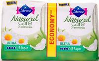 Прокладки гигиенические Libresse Natural Care Ultra Super 18 шт. 5 капель